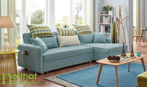 Sofa giường đẹp kích thước nhỏ dành cho không gian chật hẹp