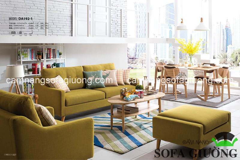 Sofa giường thông minh và bàn trà nhập khẩu là những trải nghiệm tuyệt vời và đầy tính khám phá dành cho cuộc sống hiện đại