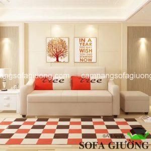 Mẫu sofa giường nhập khẩu góc L mới nhất tại Funika