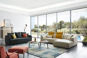 Lựa chọn sofa giường phòng khách phù hợp với mùa hè