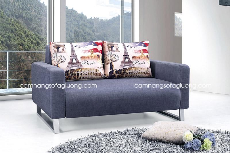 ghế sofa giường nhỏ gọn duyên dáng