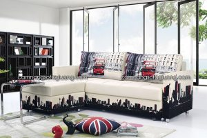 ghế sofa giường vải mềm mại thoáng mát