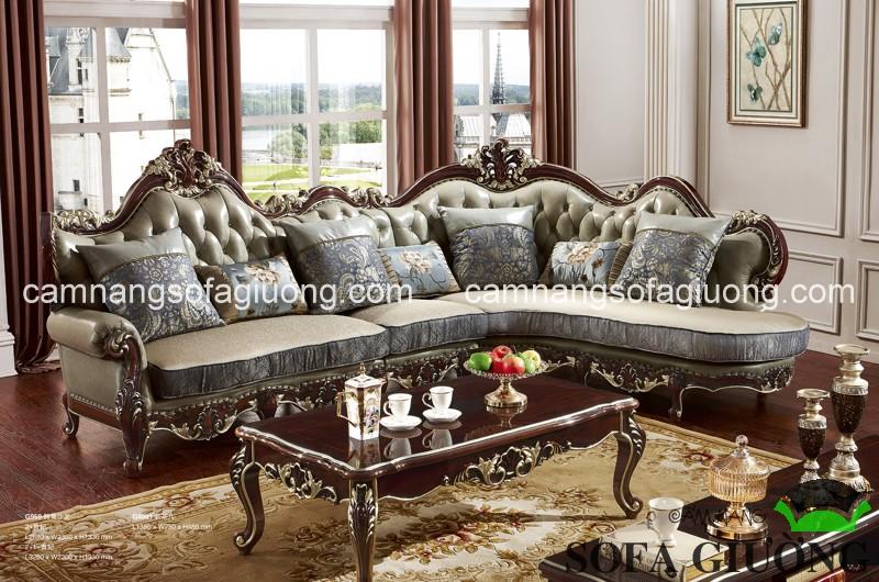 Ghế sofa tân cổ điển luôn có sẵn với mẫu mã phong phú tại Nội thất nhập khẩu Funika
