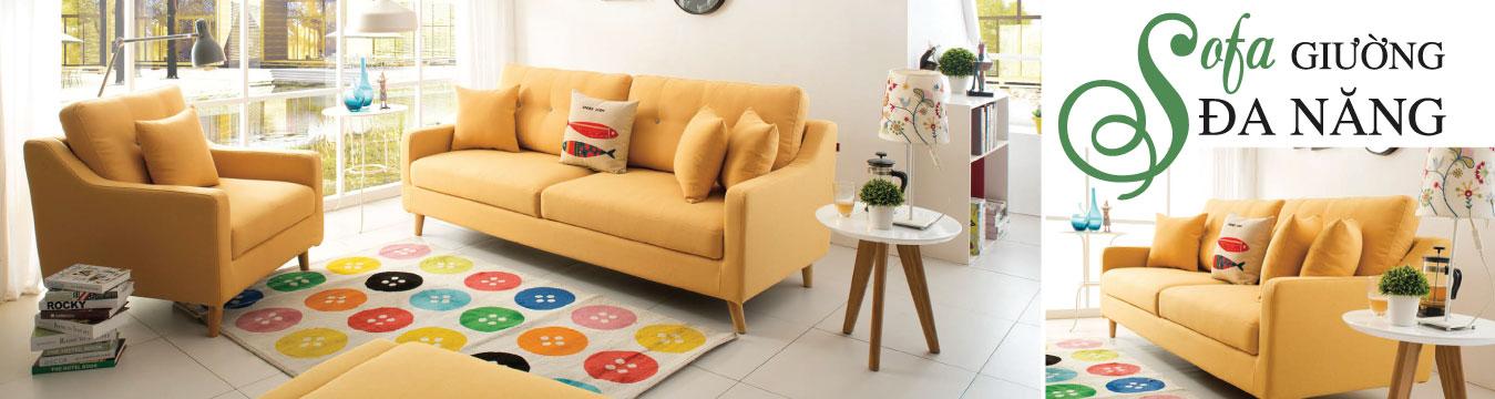 Ghế sofa giường thông minh nhập khẩu với kiểu dáng trẻ trung, tính năng thông minh