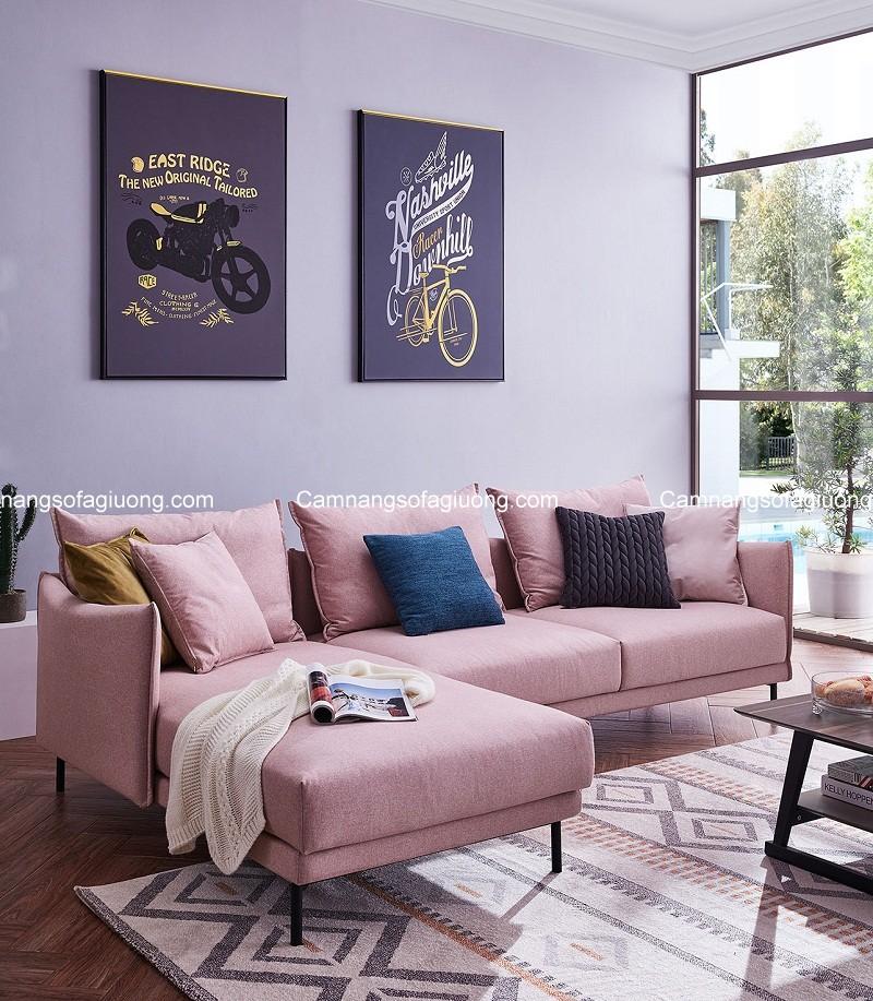 Ghế sofa phòng khách nhỏ có mẫu mã đa dạng, màu sắc trẻ trung và giá thành hấp dẫn