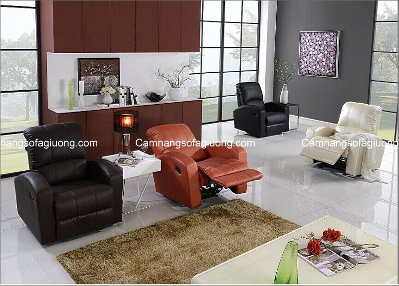 Ghế sofa thư giãn mang đến sự đẳng cấp cho không gian nhà hiện đại