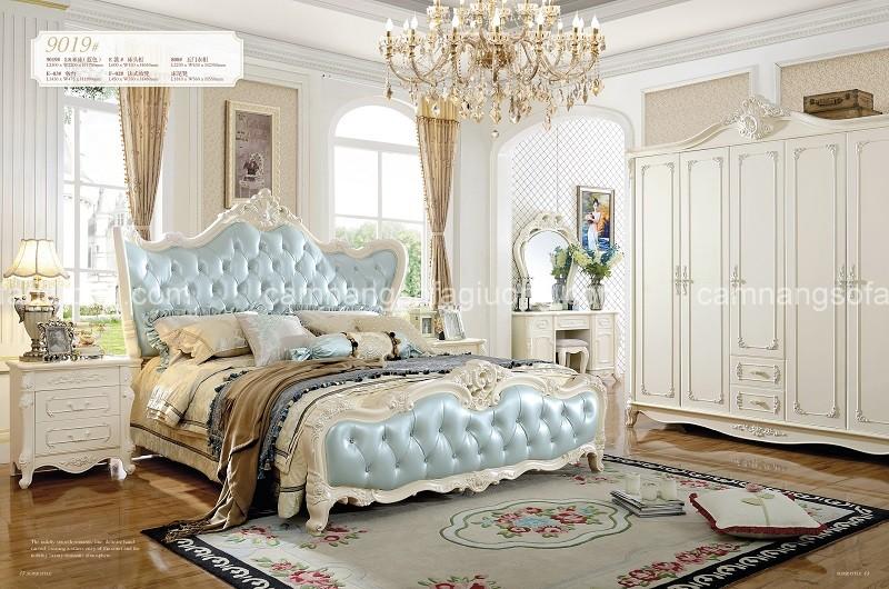 Giường ngủ tân cổ ddienr với thiết kế trẻ trung, thanh thoát