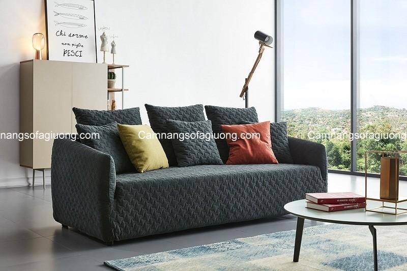 Vệ sinh ghế sofa giường nhập khẩu đúng cách giúp kéo dài tuổi thọ, duy trì độ bền đẹp cho sản phẩm