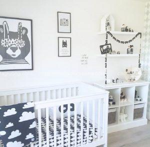 Những yêu cầu cơ bản về phòng ngủ của trẻ sơ sinh