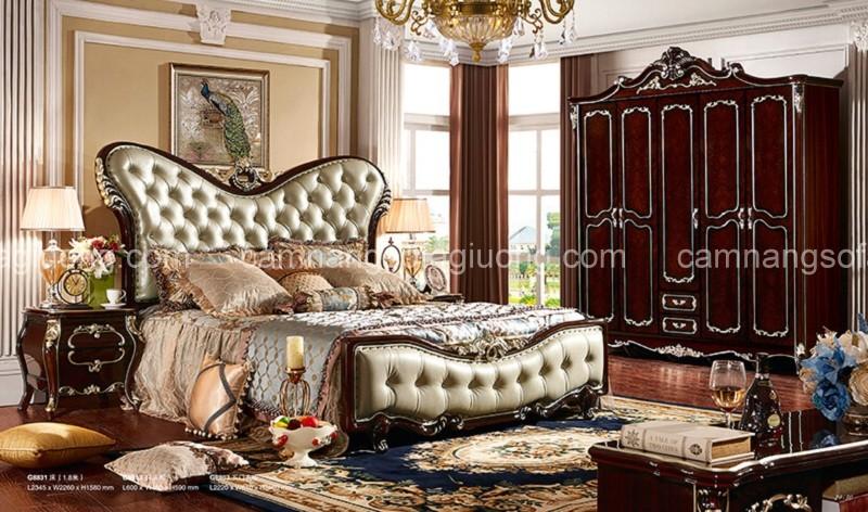 Phòng ngủ ngọc trai nâu bóng bạn phải chiêm ngưỡng ít nhất một lần