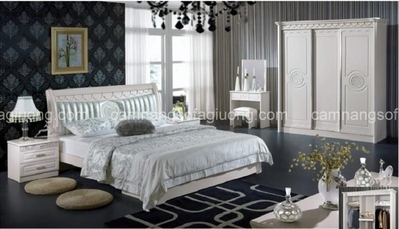 Phòng ngủ tân cổ điển phong cách Hàn Quốc - sự chờ đợi từ drama Hàn